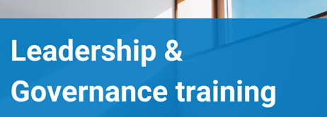 Leadership & Governance training – 29 June 2021 — current and future leaders