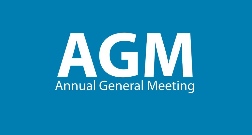 Annual General Meeting  – Save The Date